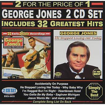 George Jones - 32 Greatest Hits [CD] USA import