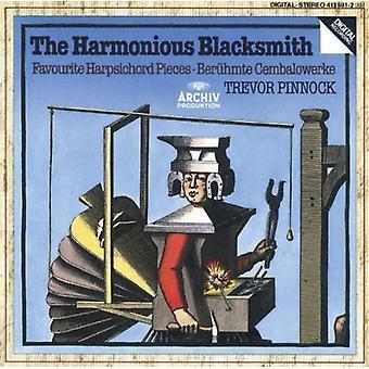 Pinnock - Harmonious Blacksmith / Harpsichord Solos [CD] USA import