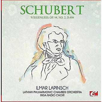 Schubert - Wiegenlied Op. 98 No. 2 D.498 [CD] USA import