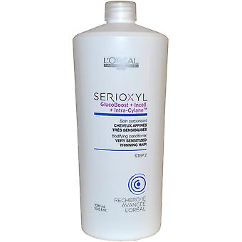 L'Oreal Professionnel Serioxyl Bodifying Conditioner 1000ml for Thinning Hair (1 Litre)