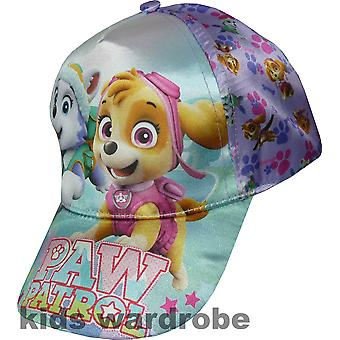 Girls Paw Patrol Baseball Cap with Adjustable Back