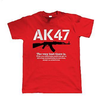 AK47 Il molto meglio che c'è, Mens Gamer, Paintball o Airsoft T-Shirt, regalo uomo