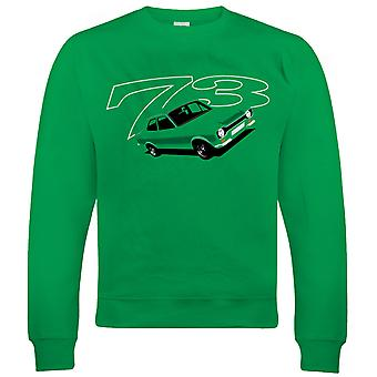 Vectorbomb, Escort Mk1 RS2000 73, Mens Sweatshirt