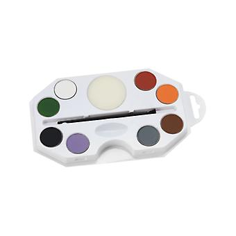 Halloween Aqua facial and body colors Kit