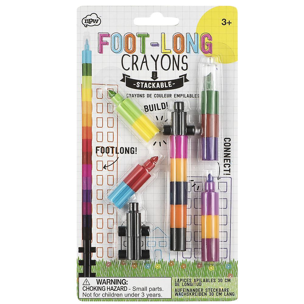 NPW Sketch & Colour Foot Long Crayon