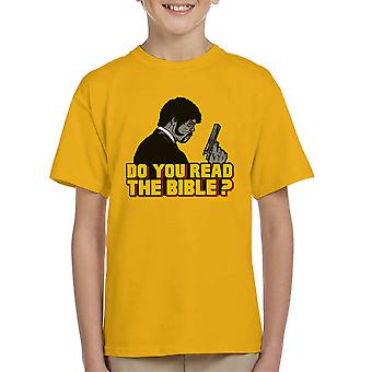 Shepherd Jules Winnfield Pulp Fiction børne T-Shirt