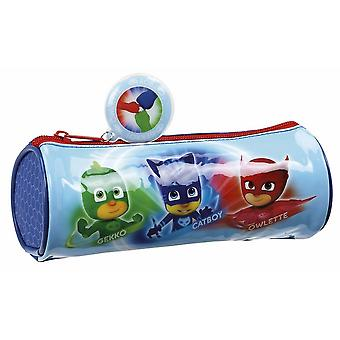 Safta Portatodo Redondo Pjmasks (Toys , School Zone , Pencil Case)