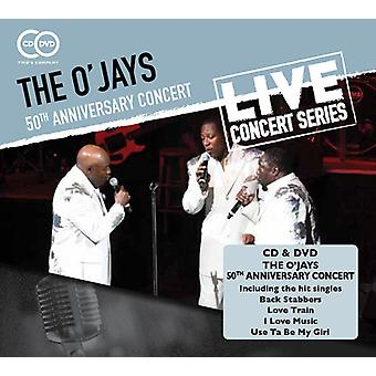 O'Jays - Ojays-50 års jubilæum Koncert [CD] USA import
