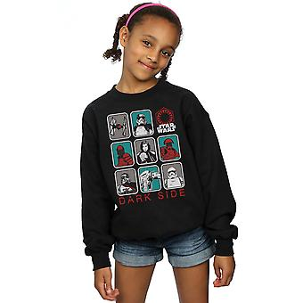 Star Wars Girls The Last Jedi Dark Side Multi Character Sweatshirt