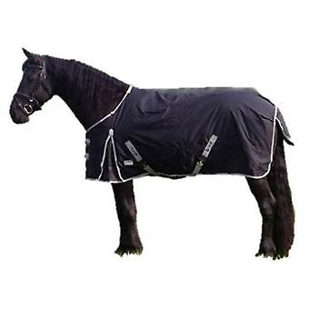 QHP XL layer 300g Black (Horses , Horse riding equipment , Bed covers , Midseason)