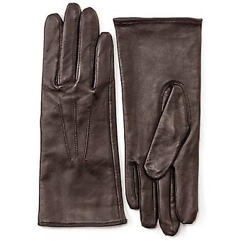 Pittards Three Point Nappa Leather Gloves - Mocca Brown