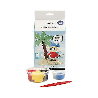 Petra the Pirate Silk Clay Modelling Craft Kit - Gifts For Kids