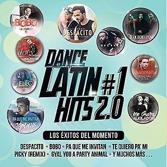 Dance latinske #1 Hits - Dance latinske #1 Hits [CD] USA importerer