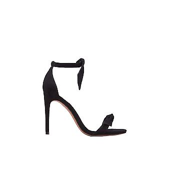 Alexandre Birman ladies B0014581790009871 Black Suede sandals