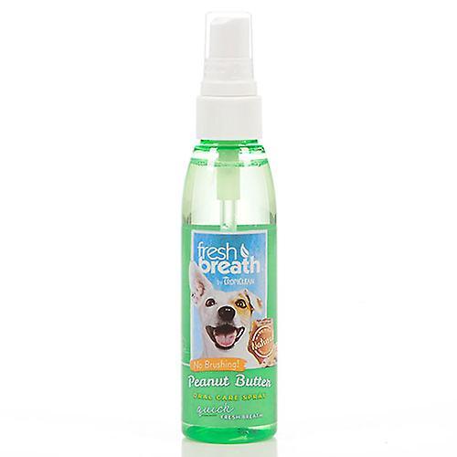 Tropiclean Fresh Breath Peanut Butter Oral Care Spray