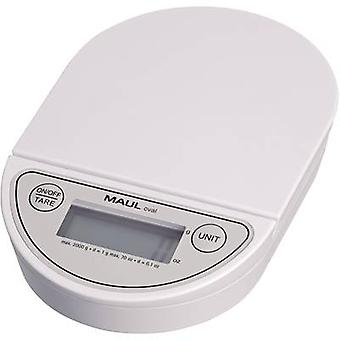 Letter scales Maul MAULoval Weight range 2 kg Readability 1 g