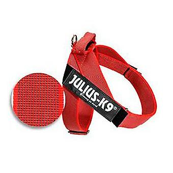 Julius K9 Harness Color & Gray IDC red Size 3