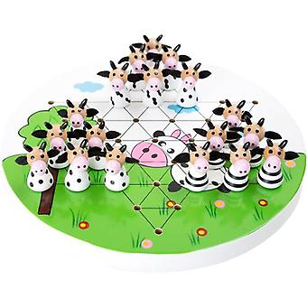 Legler Halma  Cows  (Babies and Children , Toys , Boardgames , Traditionals)