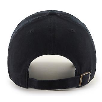 47 Brand MLB Atlanta Braves Clean Up Cap - Black