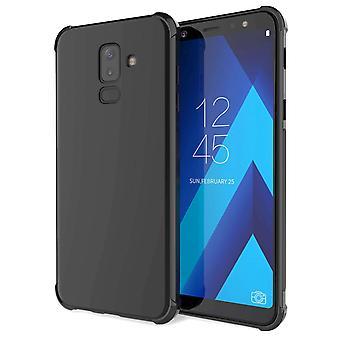 Samsung Galaxy A6 pluss (2018) alfa TPU Gel - svart