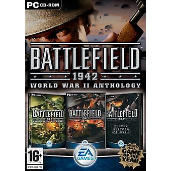 Battlefield 1942 l'anthologie de la seconde guerre mondiale (PC CD)