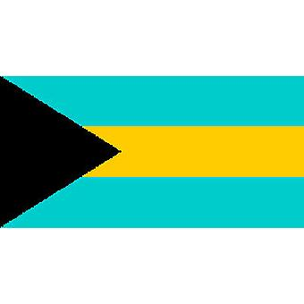 Bahamian Flag 5ft x 3ft With Eyelets For Hanging