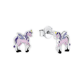 Prinsesse Lillifee barn øredobber sølv unicorn Rosie 2013151