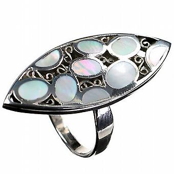 Pearl Paradise Silver Ring