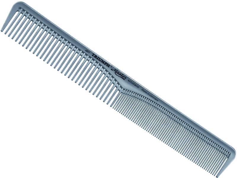 """Triumph Master Hair Cutting Comb Wide & Fine Teeth 7"""""""