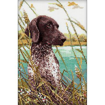 Hunting Counted Cross Stitch Kit-7