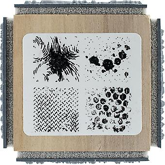 Stampendous Cube Rubber Stamp 2.75