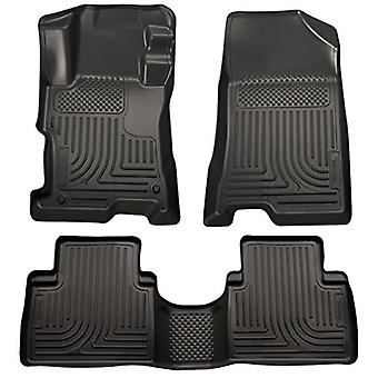Husky Liners Front & 2nd Seat Floor Liners Fits 14-15 Sorento