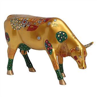 Cow Parade Climbs Cow (large)