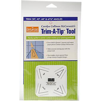 C&T Publishing Fast2cut Tools Trim-A-Tip Tool-Trim 30, 45, 60 And 67.5 Degree Angles