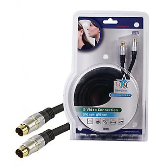 HQ S-video cable-S-Video S-Video, male, male dark gray