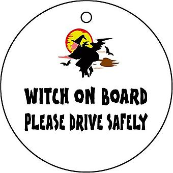 Witch On Board Car Air Freshener