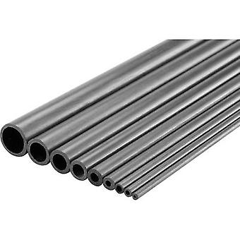 Carbon Pipe (Ø x L) 7 mm x 1000 mm Inside diameter: 5 mm
