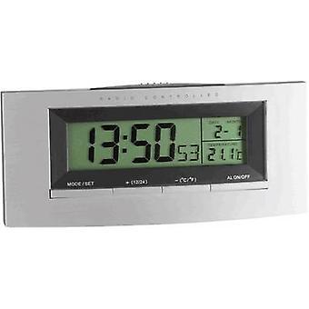TFA 98.1030 Radio Alarm clock Silver, Black