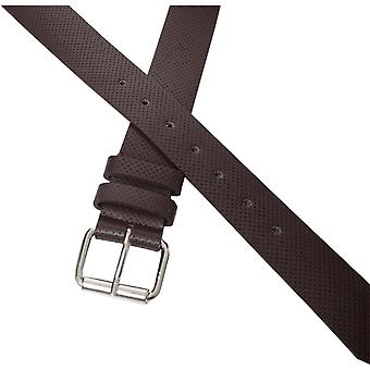 Mens PU Leather Buckle Belt