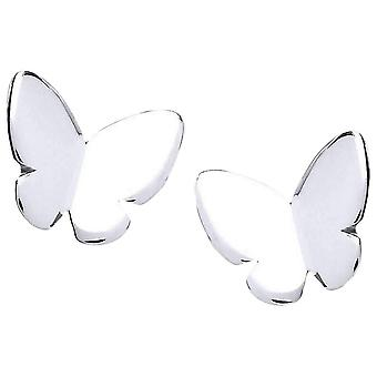 Cavendish French Simple Butterfly Earrings - Silver