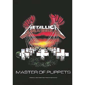 Metallica Master Of Puppets Large Fabric Poster/ Flag 1100Mm X 750Mm