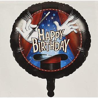 الساحر ماجي إحباط بالون Ø كاليفورنيا 45 cm1 قطعة موضوع عيد ميلاد
