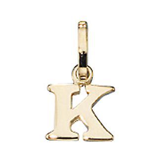 Ciondolo K 333 /-g-lettera ciondolo oro K lettera K Ciondolo oro