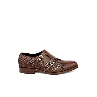 Handcrafted Premium Leather Imperial Double Monk Shoe