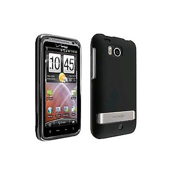 OEM Verizon Snap-On Sacoche rigide pour HTC Thunderbolt 6400 (noir) (emballage en vrac)