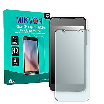 ZTE Grand X Pro Screen Protector - Mikvon Clear (Retail Package with accessories)