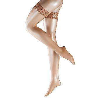 Falke Shelina Stay Up 12 Denier Stockings - Brasil Beige