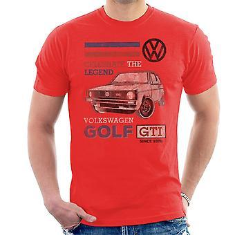 Official Volkswagen GTI Legend Men's T-Shirt