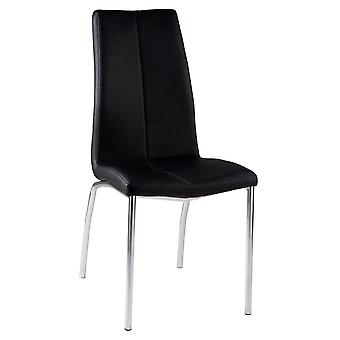 Wellindal Upholstered Chair Metal Olga (Furniture , Chairs , Chairs)