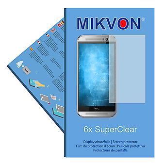 HTC One M8t TD-LTE screen protector- Mikvon films SuperClear
